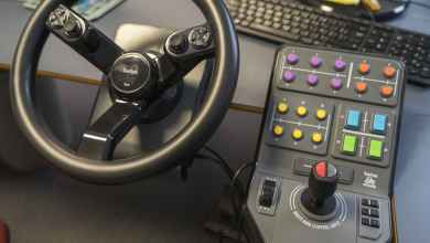 Photo of Le volant Saitek compatible Farming Simulator 19