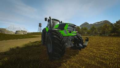 Photo of Deutz Fahr Serie 9 pour Pure Farming 2018