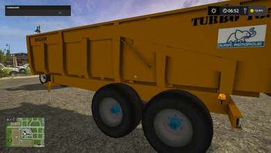 Photo of Mod Remorque Rolland Turbo 135 pour Farming Simulator 17