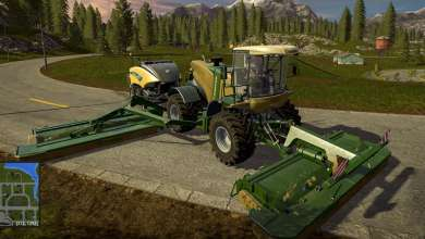 Photo of La Krone Big M 500 revient sur Farming Simulator 17