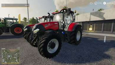Photo of Le Case IH Maxxum de Farming Simulator 19 revisité par Lucasz IH Modding