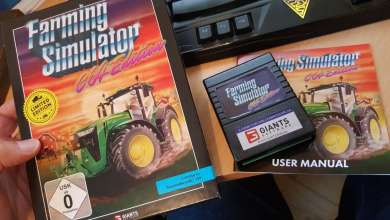 Photo of Farming Simulator édition C64 : Giants ressuscite le Commodore de 1982