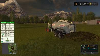 Photo of Une tonne à lisier 18000L Pichon dans Farming Simulator 17