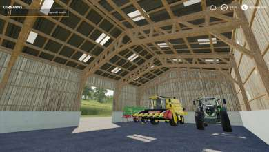 Photo of Un hangar made in France pour FS 19