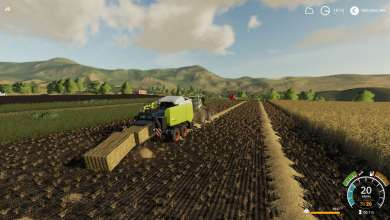 Photo of Claas Quadrant 5300 FC pour Farming Simulator 19
