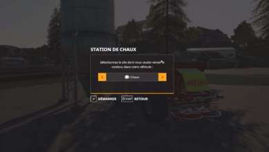 Photo of Installer une station de chaux sur une map