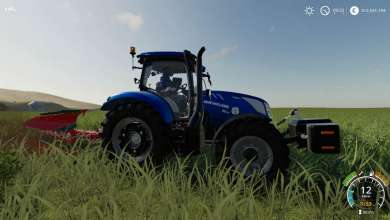 Photo of New Holland T6 from FS 19 revisited in Blue Power version