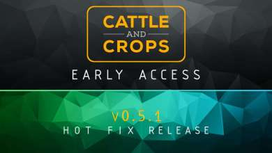 Photo of Le menu radial de Cattle and Crops s'améliore avec l'update 0.5.1