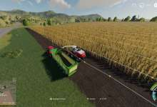 Photo de CoursePlay FS19 Tuto #09 : On tente l'ensilage de maïs