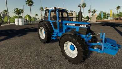 Photo of Un tracteur Ford 8630 très complet pour Farming Simulator 19