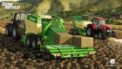 Photo of Le DLC Straw Harvest pour Farming Simulator 19 entre en scène