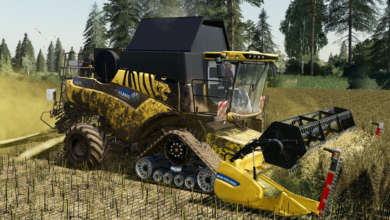 Photo of Le tigre de la New Holland CR 6.90 refait surface sur FS 19