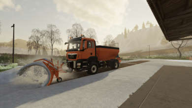 Photo de Le Man TGS Winter Service équipe la DDE de Farming Simulator 19