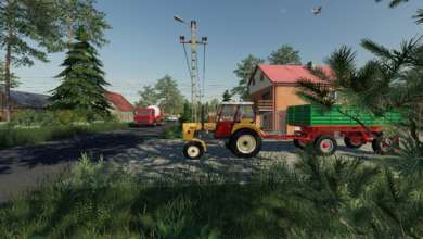 Photo de Sandomierskie Okolice et ses 3 villages polonais sur FS 19