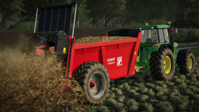 Photo of Épandeur à fumier Gilibert Helios 15 pour FS 19